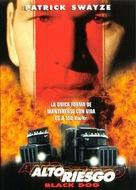 Black Dog - Chilean DVD cover (xs thumbnail)