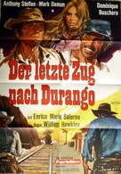 Un treno per Durango - German Movie Poster (xs thumbnail)