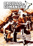 Comanche Territory - Spanish Movie Cover (xs thumbnail)