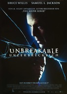 Unbreakable - German Movie Poster (xs thumbnail)