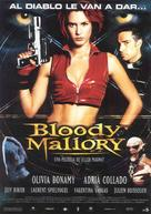 Bloody Mallory - Spanish poster (xs thumbnail)