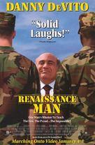 Renaissance Man - Video release movie poster (xs thumbnail)