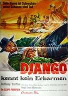 Pochi dollari per Django - German Movie Poster (xs thumbnail)