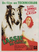 Lassie Come Home - French Movie Poster (xs thumbnail)
