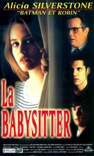 The Babysitter - French VHS cover (xs thumbnail)