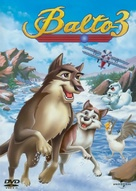 Balto III: Wings of Change - Czech DVD movie cover (xs thumbnail)