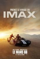 Ford v. Ferrari - French Movie Poster (xs thumbnail)