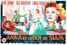 Anna and the King of Siam - French Movie Poster (xs thumbnail)