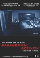 Paranormal Activity - Belgian Movie Poster (xs thumbnail)