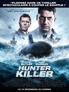 Hunter Killer - French Movie Poster (xs thumbnail)