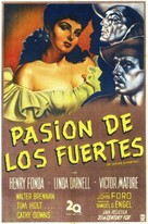 My Darling Clementine - Argentinian Movie Poster (xs thumbnail)