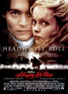 Sleepy Hollow - Advance movie poster (xs thumbnail)