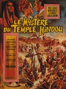 Il mistero del tempio indiano - French Movie Poster (xs thumbnail)