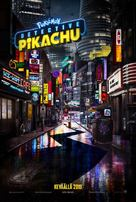 Pokémon: Detective Pikachu - Finnish Movie Poster (xs thumbnail)