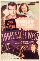 Three Faces West - Re-release movie poster (xs thumbnail)