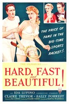 Hard, Fast and Beautiful - Movie Poster (xs thumbnail)