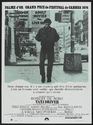 Taxi Driver - French Theatrical poster (xs thumbnail)