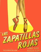 The Red Shoes - Spanish poster (xs thumbnail)
