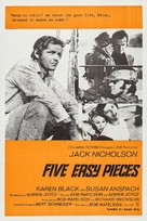 Five Easy Pieces - Australian Movie Poster (xs thumbnail)