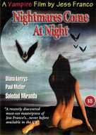 Les cauchemars naissent la nuit - British Movie Cover (xs thumbnail)