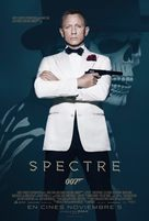 Spectre - Mexican Movie Poster (xs thumbnail)