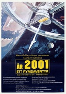 2001: A Space Odyssey - Swedish Movie Poster (xs thumbnail)
