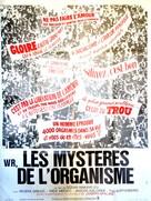 W.R. - Misterije organizma - French Movie Poster (xs thumbnail)