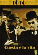 Questa è la vita - Italian DVD cover (xs thumbnail)