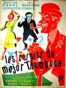 Les carnets du Major Thompson - French Movie Poster (xs thumbnail)