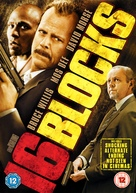 16 Blocks - British DVD movie cover (xs thumbnail)