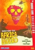 Africa addio - DVD cover (xs thumbnail)