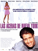 Sidewalks Of New York - Spanish Movie Poster (xs thumbnail)