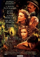 A Midsummer Night's Dream - German Movie Poster (xs thumbnail)