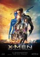 X-Men: Days of Future Past - Serbian Movie Poster (xs thumbnail)