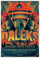 Daleks' Invasion Earth: 2150 A.D. - British Re-release movie poster (xs thumbnail)