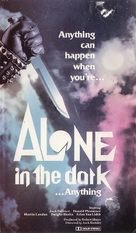 Alone in the Dark - VHS movie cover (xs thumbnail)