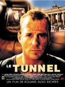 Tunnel, Der - French Movie Poster (xs thumbnail)