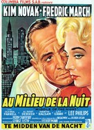 Middle of the Night - Belgian Movie Poster (xs thumbnail)