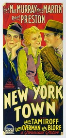 New York Town - Australian Movie Poster (xs thumbnail)