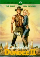 Crocodile Dundee II - DVD movie cover (xs thumbnail)