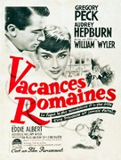 Roman Holiday - French Movie Poster (xs thumbnail)