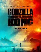 Godzilla vs. Kong - Mexican Movie Poster (xs thumbnail)