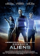 Cowboys & Aliens - German Movie Poster (xs thumbnail)