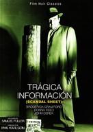 Scandal Sheet - Spanish DVD movie cover (xs thumbnail)
