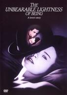 The Unbearable Lightness of Being - Czech DVD movie cover (xs thumbnail)