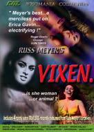 Vixen! - DVD cover (xs thumbnail)