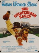 Paint Your Wagon - Danish Movie Poster (xs thumbnail)