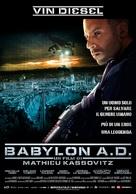 Babylon A.D. - Italian Movie Poster (xs thumbnail)