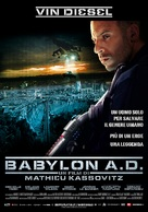 Babylon A.D. - Italian Movie Poster (xs thumbnail)