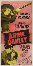 Annie Oakley - Re-release movie poster (xs thumbnail)